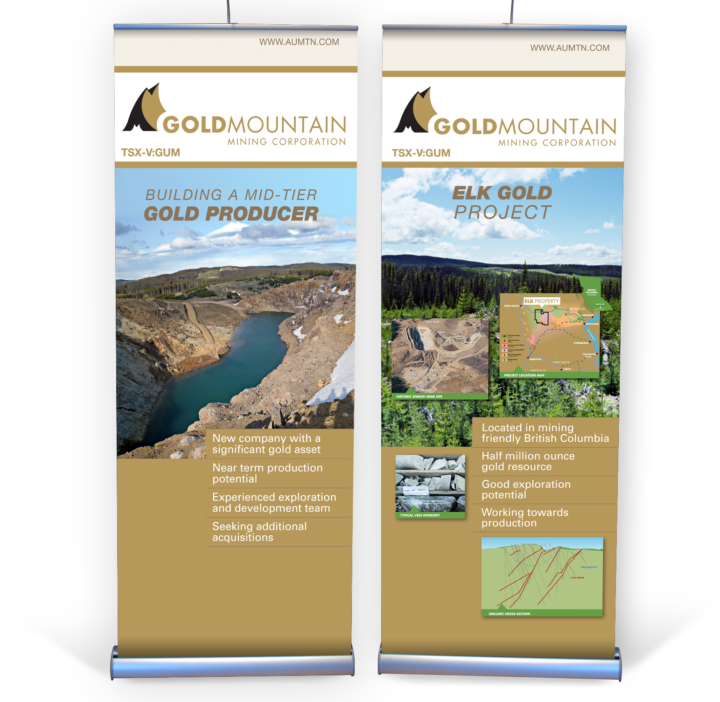 Gold Mountain Mining Corporation Trade Show Booth