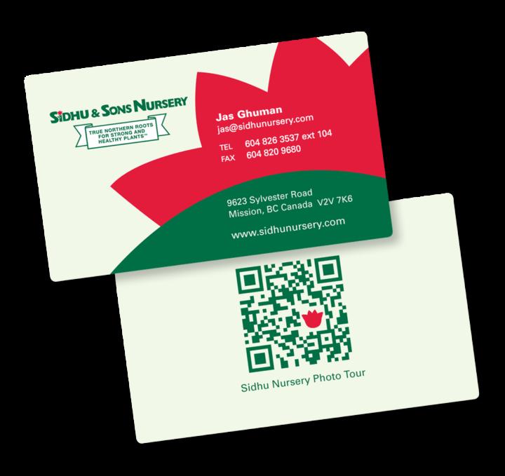 Sidhu & Sons Nursery Ltd. Identity Package