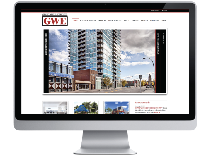 Grand West Electric Ltd. Website
