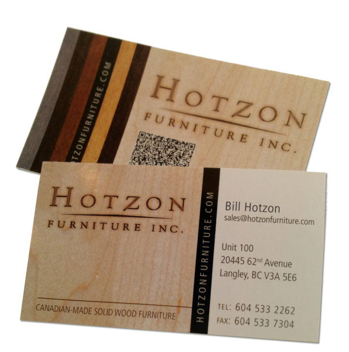 Hotzon Furniture Inc. Identity Package