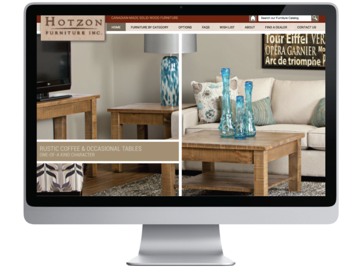 Hotzon Furniture Inc. Website
