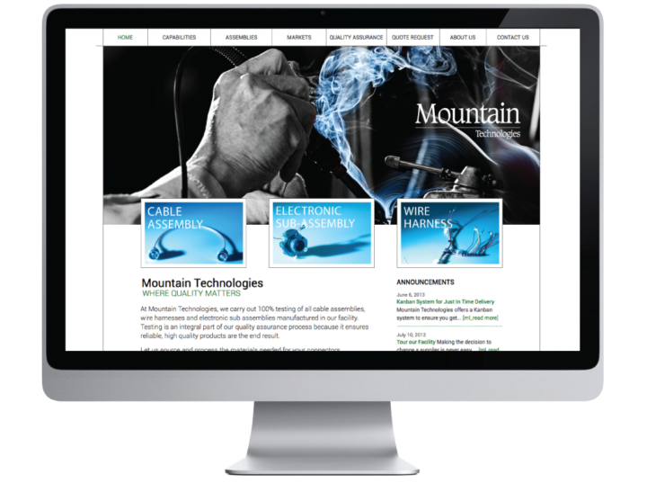Mountain Technologies Limited Website