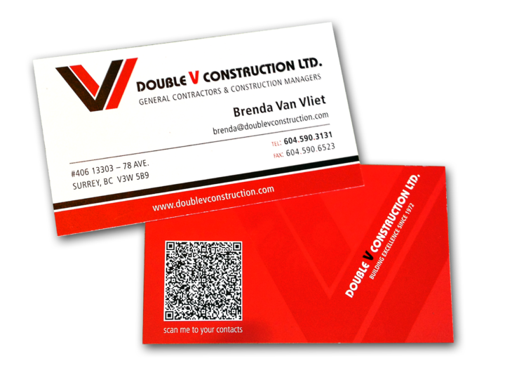 Double V Construction Ltd. Identity Package