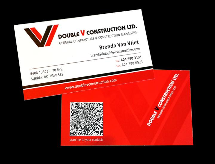 Double V Construction Ltd. Identity Package