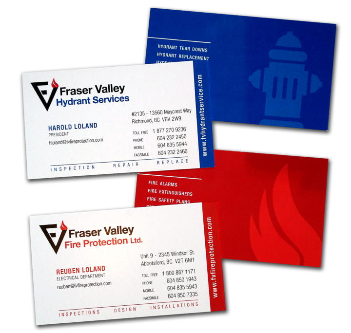 Fraser Valley Fire Protection Identity Package