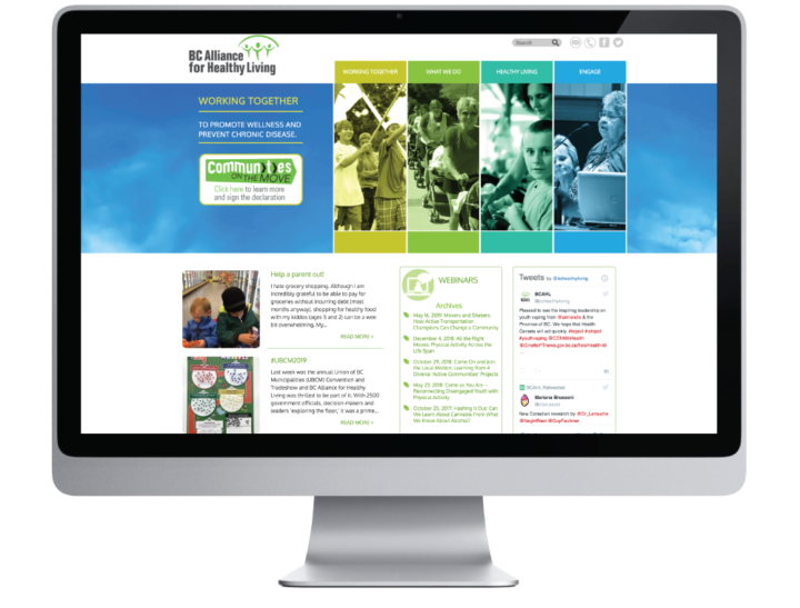 BC Healthy Living Alliance Website