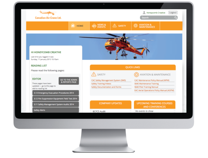 Canadian Air-Crane Website