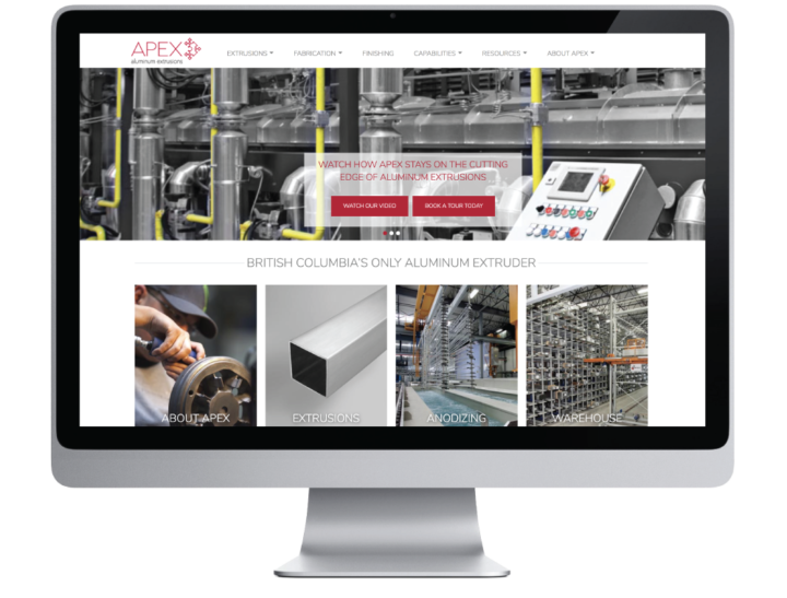 Apex Aluminum Extrusions Website