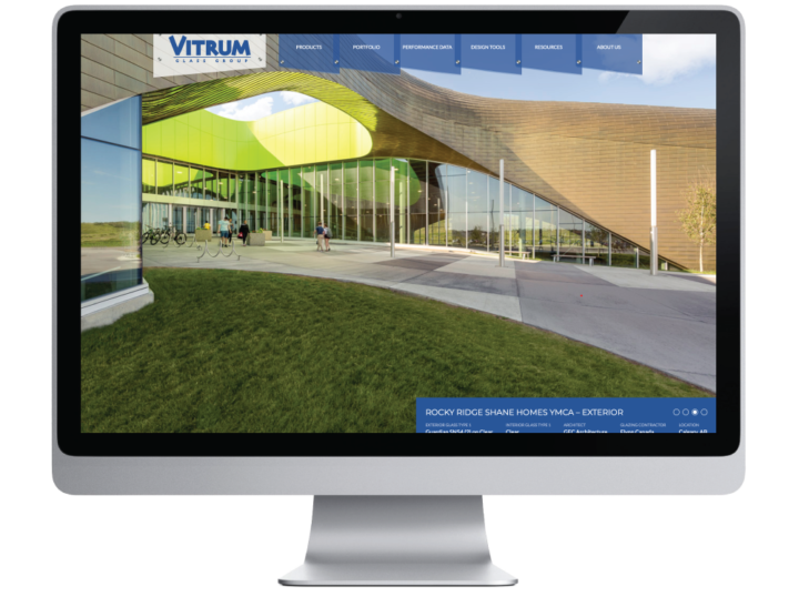 Vitrum Glass Group Website