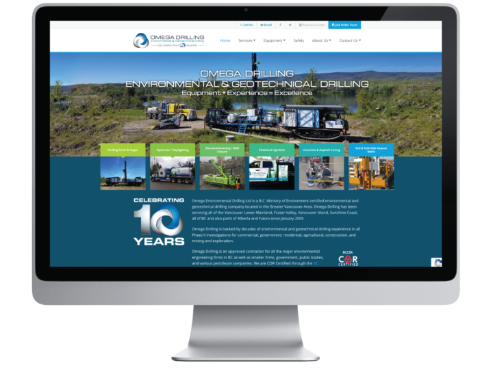 Omega Environmental Drilling Ltd. Website