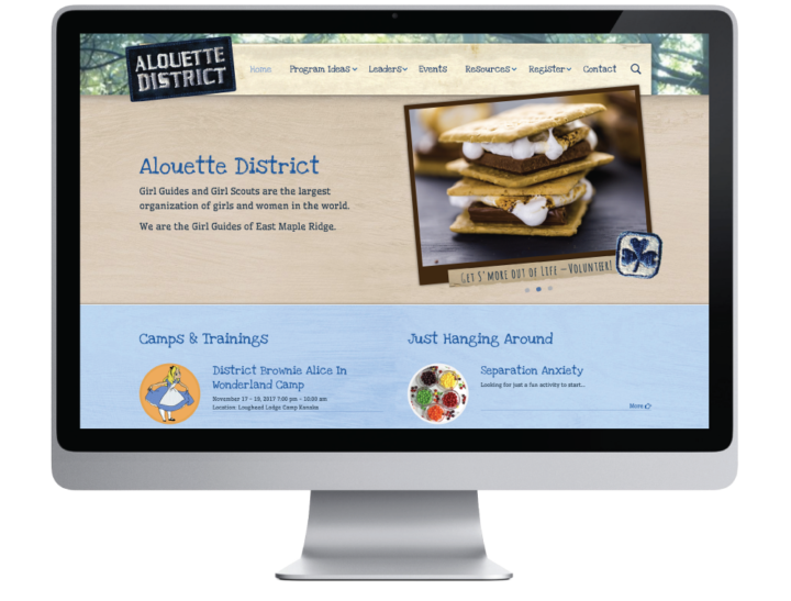 Alouette District Girl Guides Website