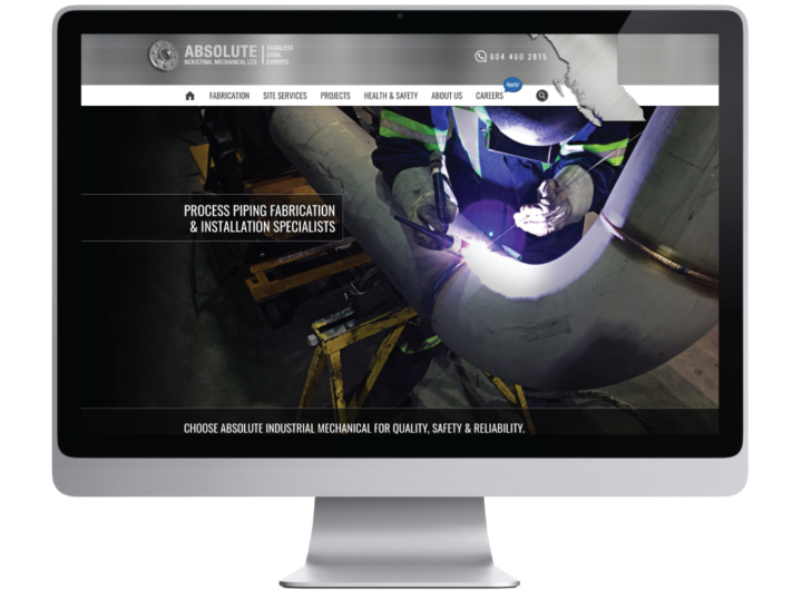 Absolute Industrial Mechanical Ltd. Website