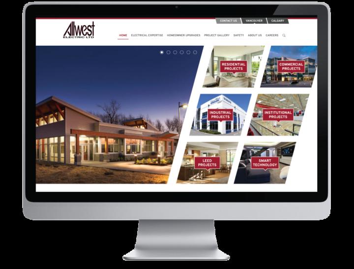 Allwest Electric Ltd. Website