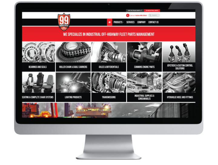 99 Industrial Parts Website