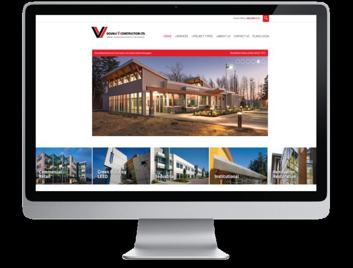 Double V Construction Ltd. Website