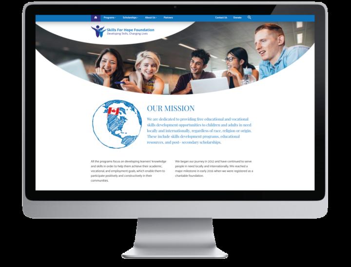 Skills for Hope Foundation Website