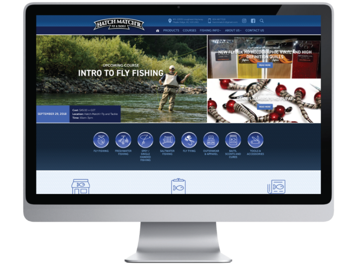 Hatch Match'r Fly & Tackle Website