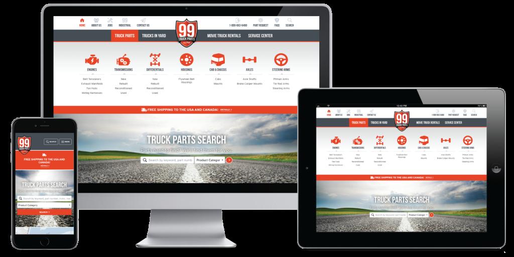 99 Truck Parts Website