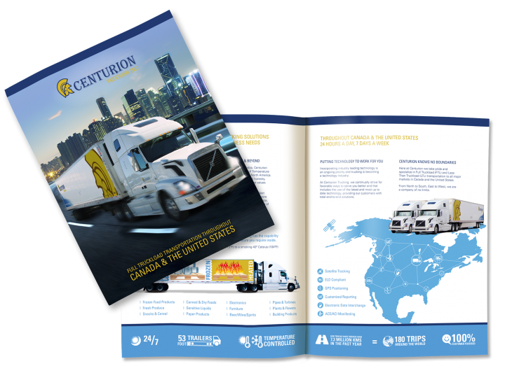 Centurion Trucking Inc. Brochure