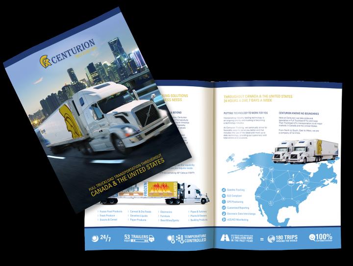 Centurion Trucking Inc. Brochure