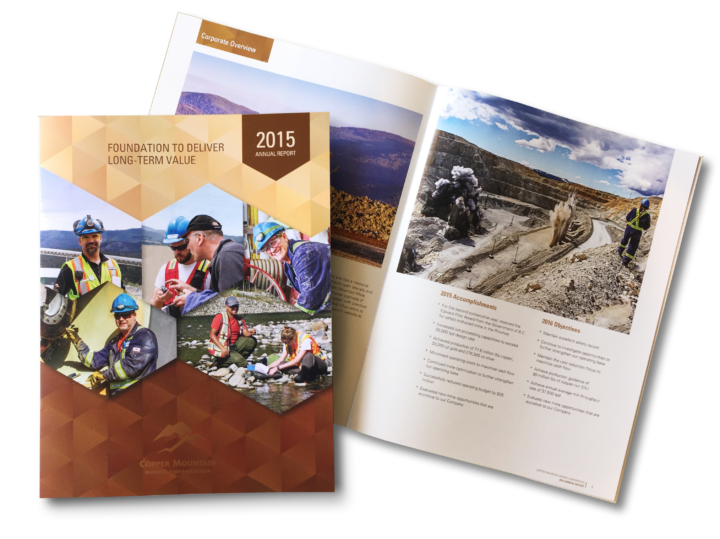 Copper Mountain Mining 2015 Annual Report