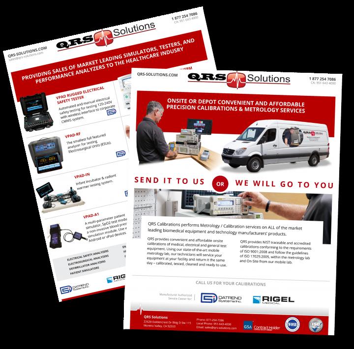 QRS Solutions Sales Sheet