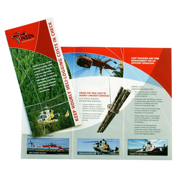 Stinson Aerial Services Brochure Brochure