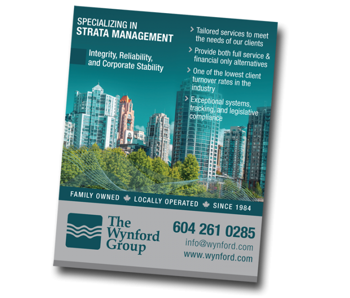 The Wynford Group Magazine Ad