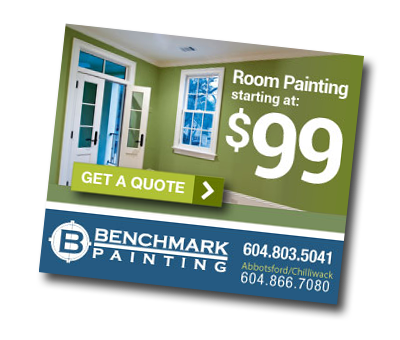 Benchmark Painting Online Ad