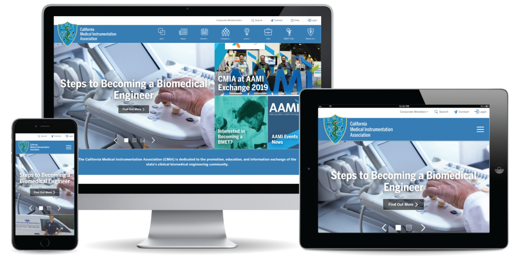 California Medical Instrumentation Association Website