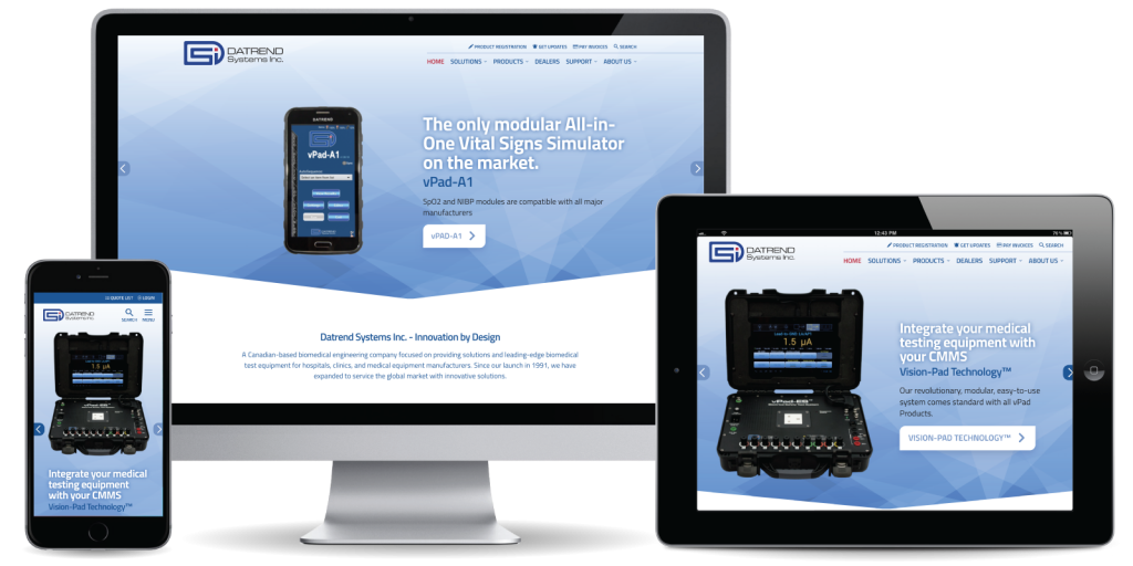 Datrend Systems Inc. Website
