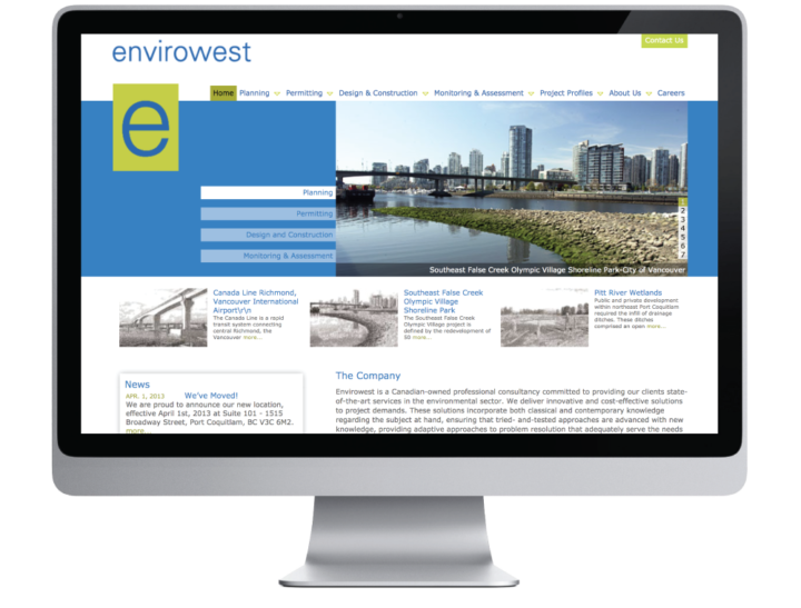 Envirowest Consultants Inc. Website