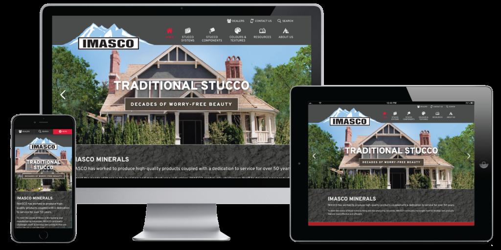 Imasco Minerals Website