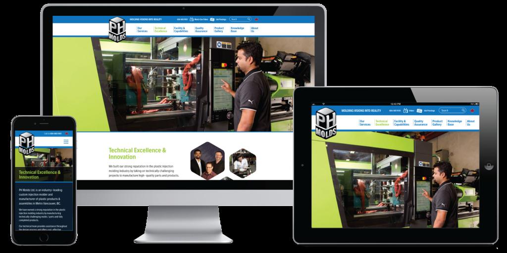 PH Molds Ltd. Website