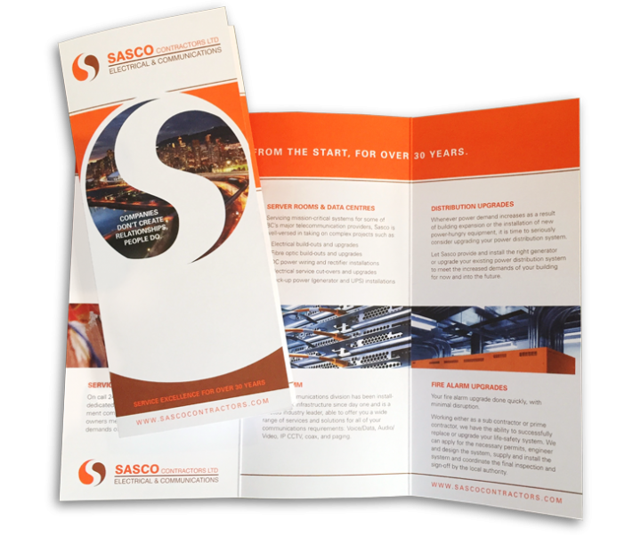 Sasco Contractors Ltd. Brochure