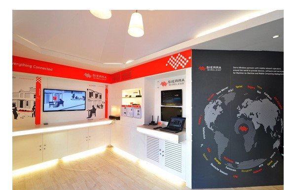 Sierra Wireless Trade Show Booth