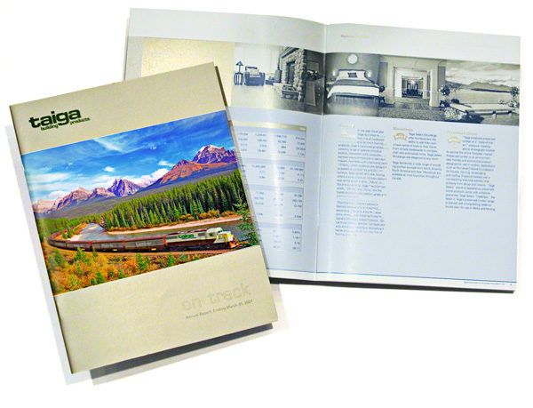 Taiga Building Products Ltd. Annual Report