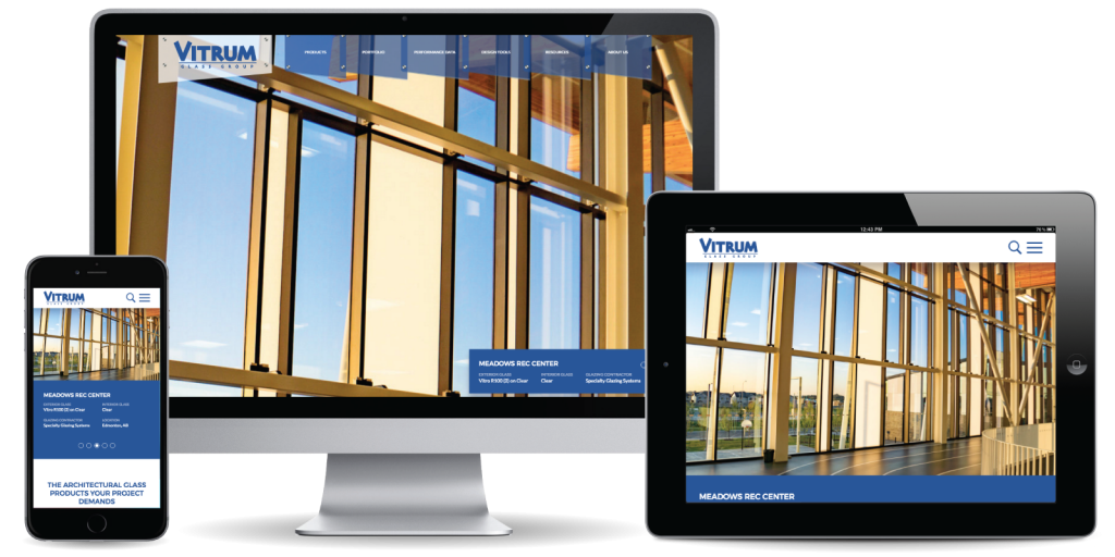 Vitrum Glass Group Website
