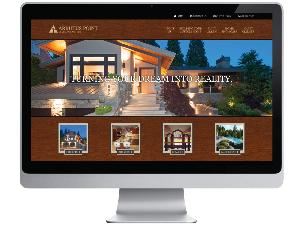 Arbutus Point Developments Ltd. Website