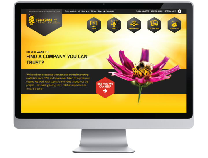 Honeycomb Creative Website