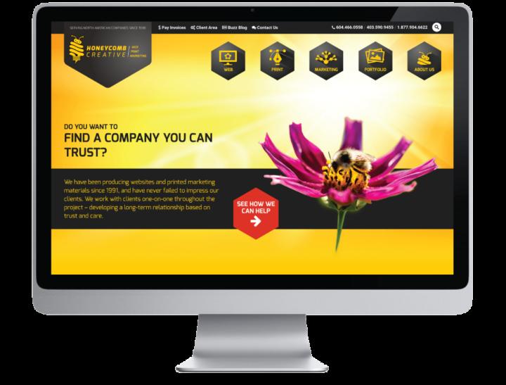 Honeycomb Creative Website