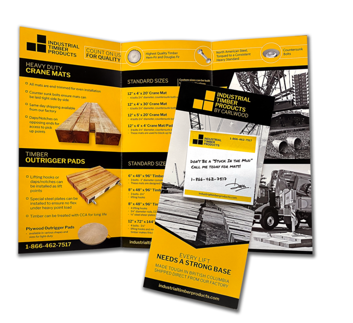 Industrial Timber Products by CarlWood Flyer