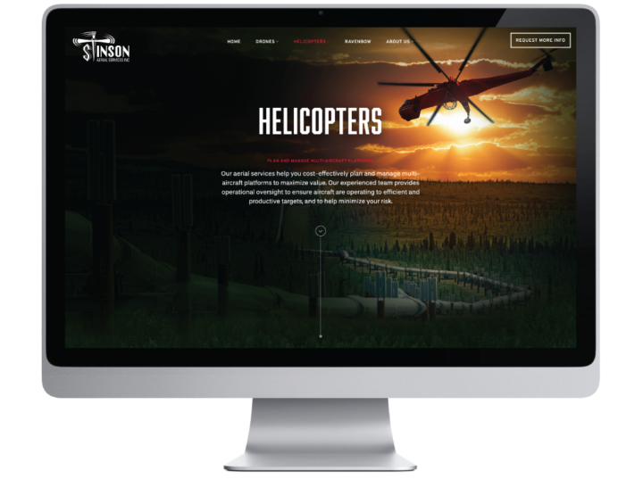 Stinson Aerial Services Inc. Website