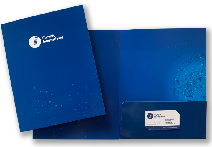 Olympic International Agencies Ltd. Folder